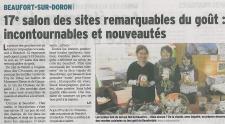 La sortie des plats cuisinés dans le Dauphiné Libéré !